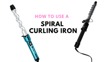 5 Simple Tips on How to Use a Spiral Curling Iron For The Perfect Curl