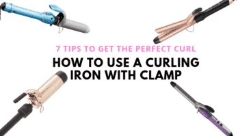 7 Great Tips On How To Use a Curling Iron With Clamp