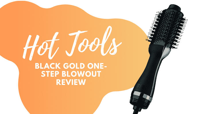 Hot Tools Black Gold Charcoal-Infused One-Step Blowout Review
